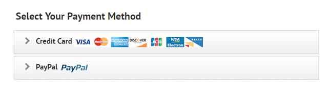IPVanish Payment Methods Review