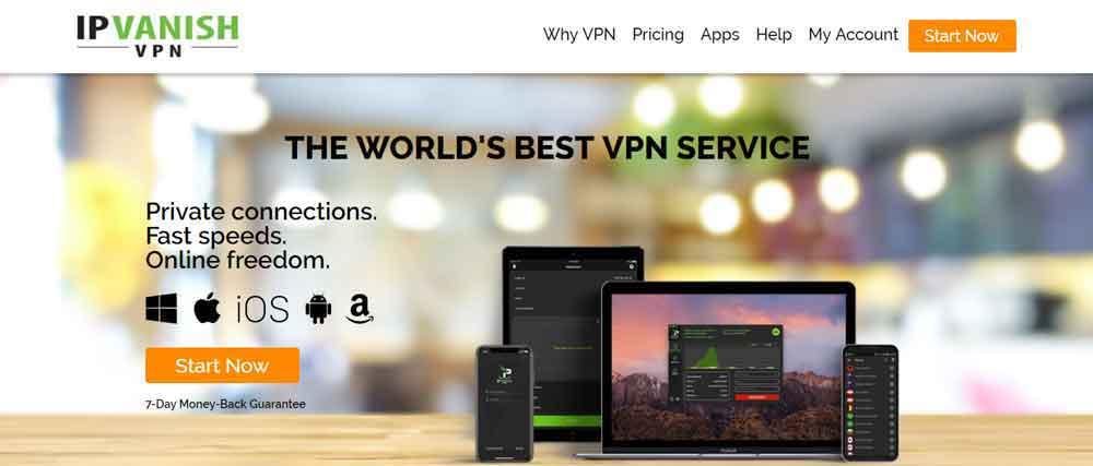 IPVanish VPN for Nvidia Shield TV