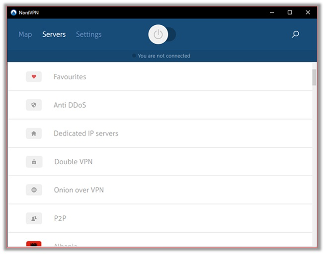 NordVPN Onion over VPN