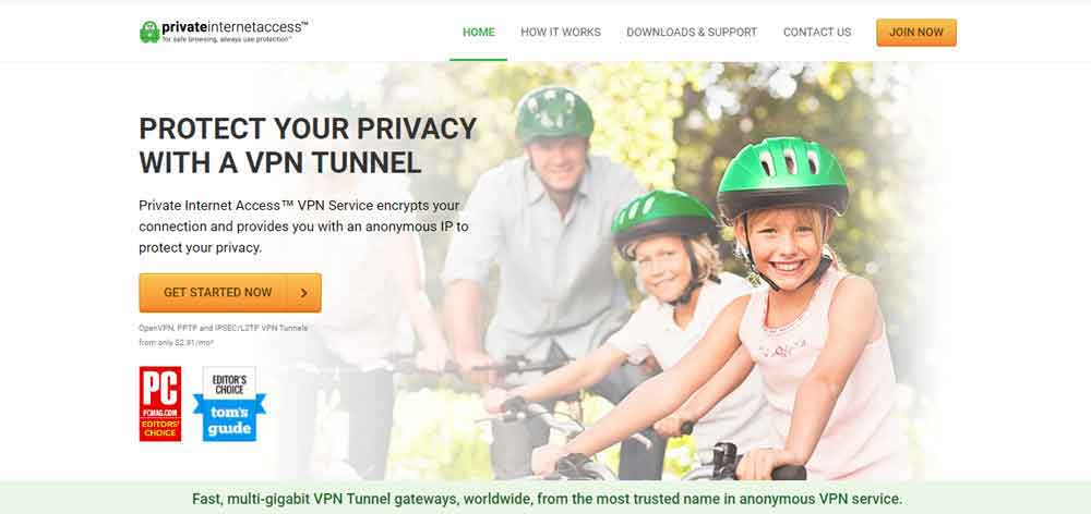 Private Internet Access VPN for IPTV