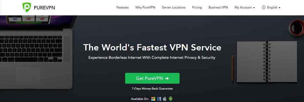 PureVPN for Nvidia Shield TV
