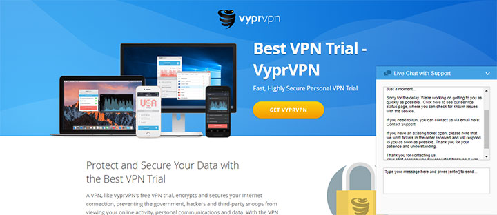 VyprVPN Customer Support Review