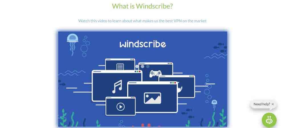 WindscribeVPN for Nvidia Shield TV