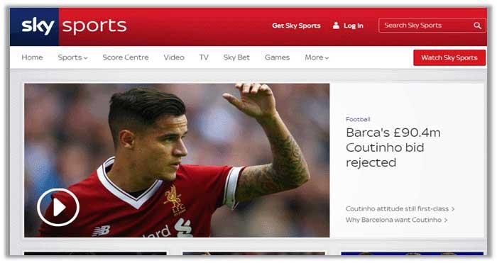 EPL on Sky Sports