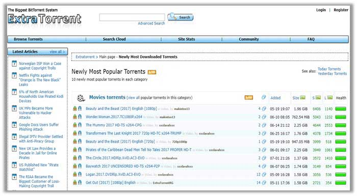 kickass torrents reddit working links