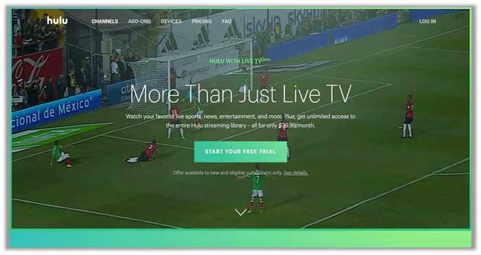 Watch EPL on Hulu Live TV