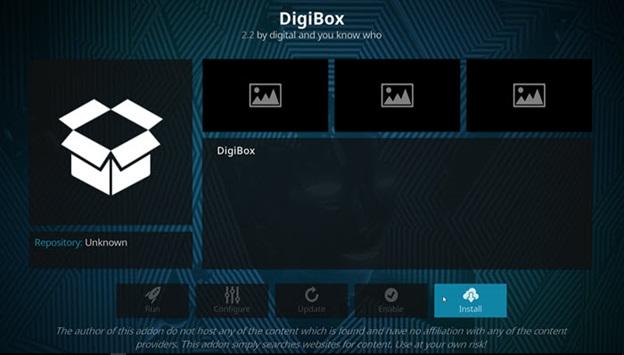 DigiBox kodi addon