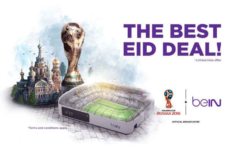 Eid deal especially for the Fifa World Cup 2018