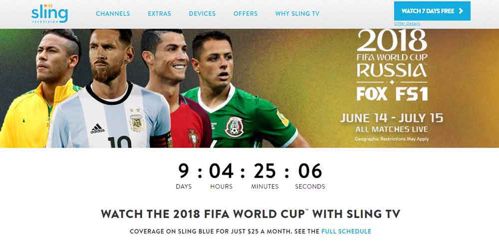 How to Watch FIFA World Cup 2018 in Australia Without Cable Live Free Online