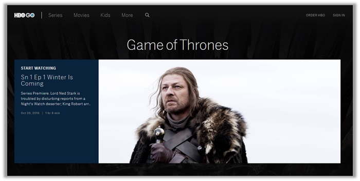How to Watch Game of Thrones Online Live Streaming