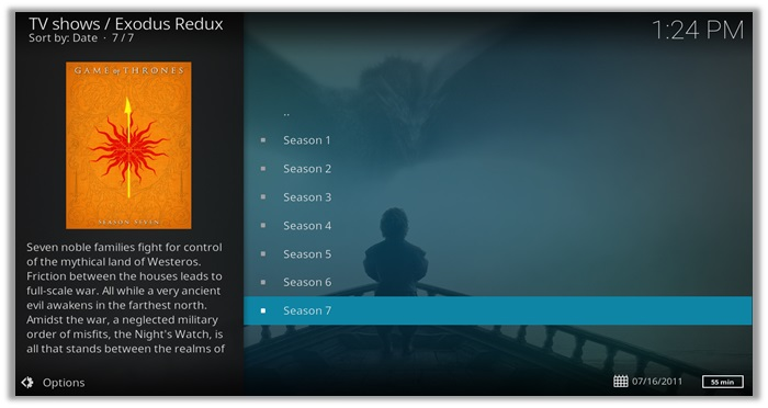How to Watch Game of Thrones live online on Kodi