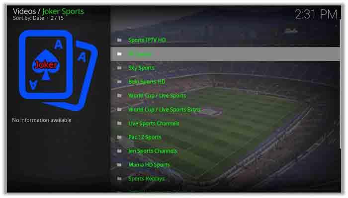 How to Watch the Fifa World Cup 2018 on Kodi via Joker Sports