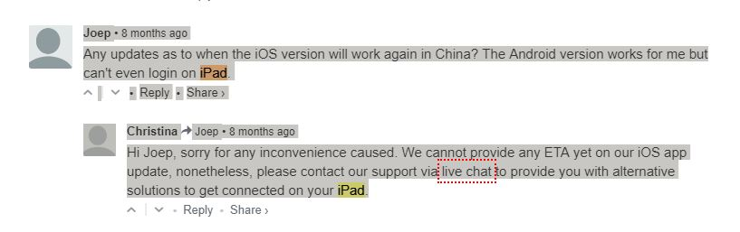 Express vpn blocked in china