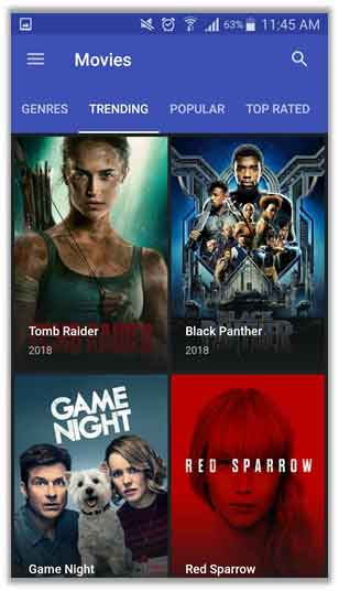 popcorn time chromecast android app