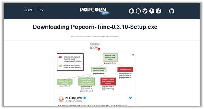 how to download Popcorn Time on Chromecast