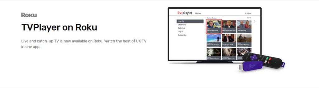 How to Watch TVPlayer on Roku