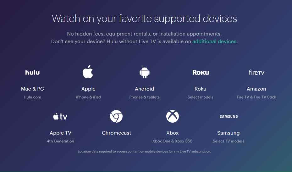 Fifa World Cup Hulu Supported Devices