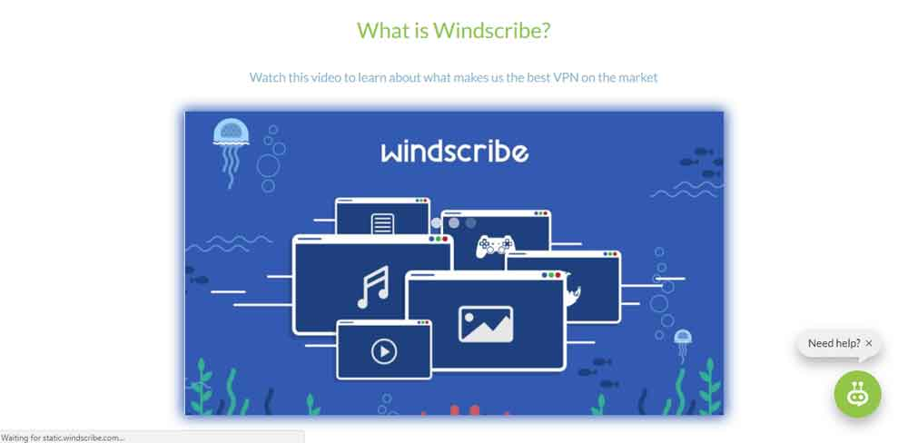 Windscribe free VPN for textnow