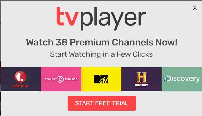 TVPlayer Plus Premium Channels