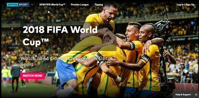 Fifa World Cup Finals 2018 on Optus Sports