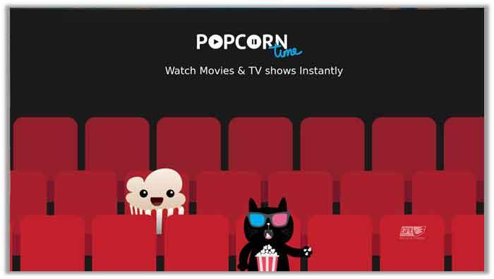 Popcorn Time Smart TV App