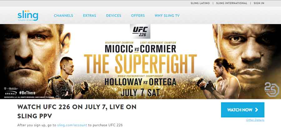 How to Watch UFC 226 All Fights Free Live Online Streams