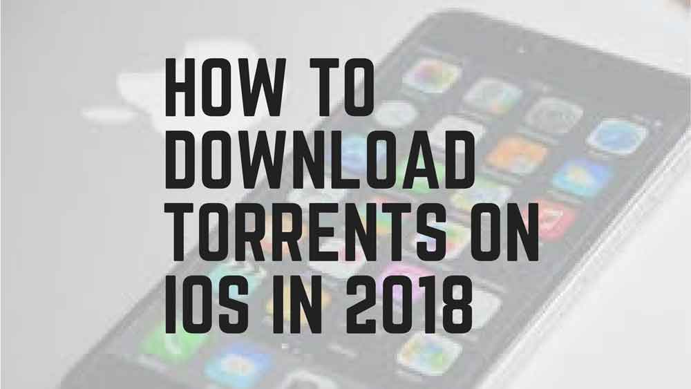 How to download torrents on ipad (ios) without jailbreak.