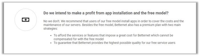betternet premium review