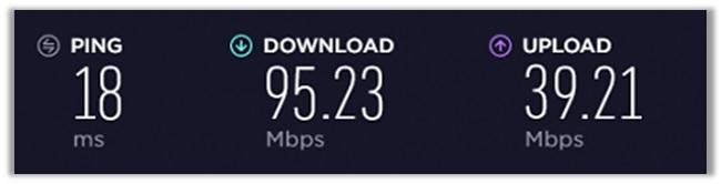 ExpressVPN US Speed Test