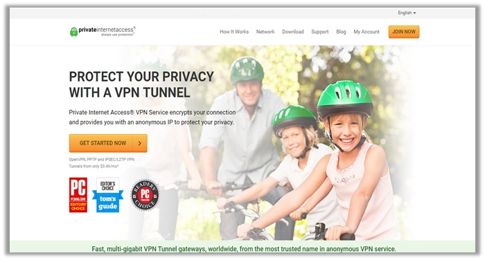 Private Internet Access (PIA) VPN for Roku