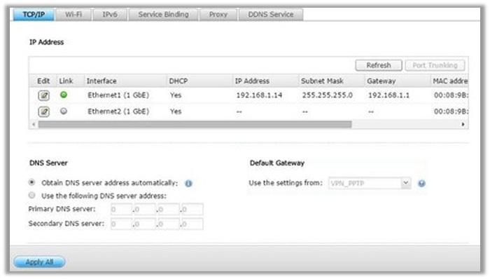 QNAP VPN Client