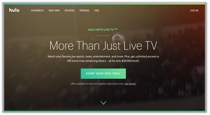 Emmy awards on Hulu Live TV