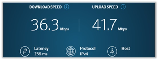 NordVPN Speed Test China