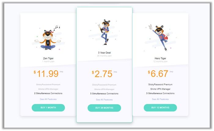 TigerVPN Pricing Review