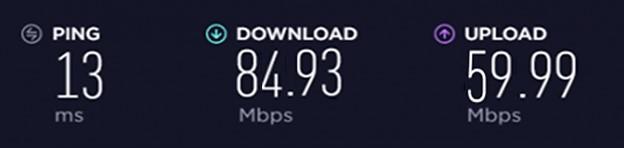 PureVPN US Speed Test