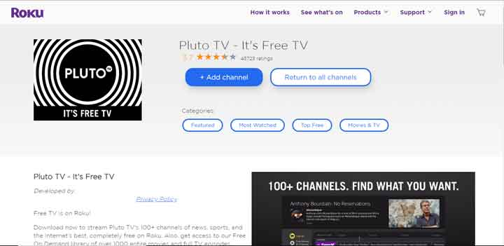 How to Watch Pluto TV on Roku