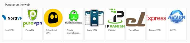 Cheap VPN As per Google's Suggestion