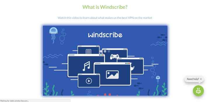 WindscribeVPN torrenting