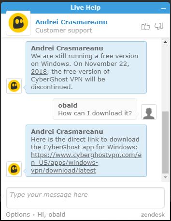 Cyber chat vpn