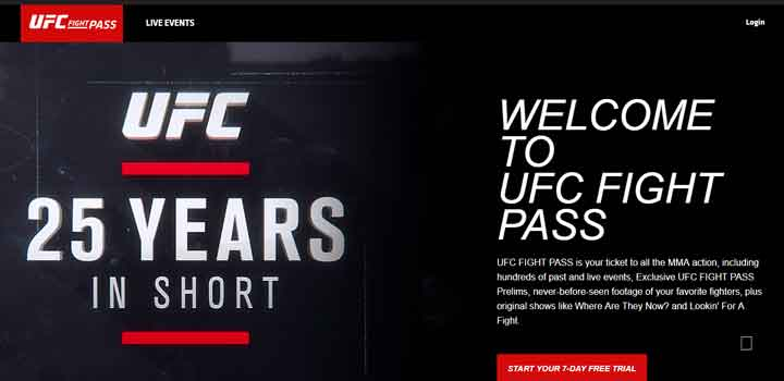 watch ufc on ps4
