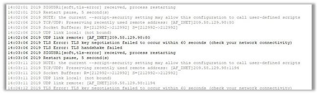 """""""Blackholing"""" VPN Servers"""