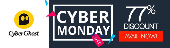 Cyberghost VPN Cyber Monday deal