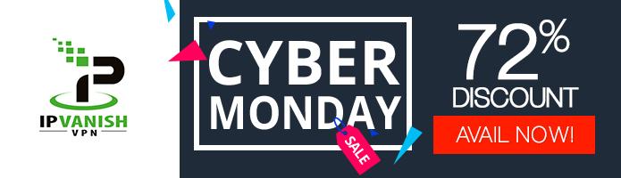 IPVanish VPN Cyber Monday Deal