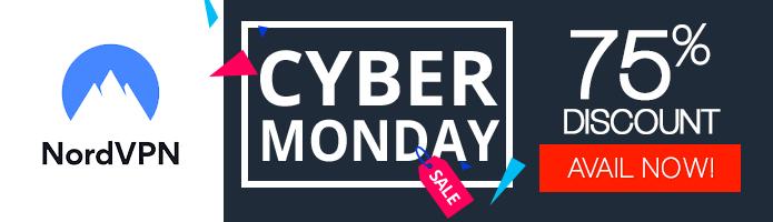Cyber Monday NordVPN deal