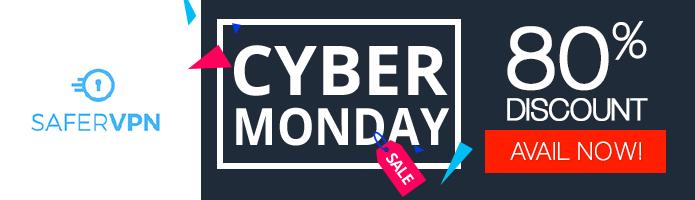 Safervpn Cyber Monday deal