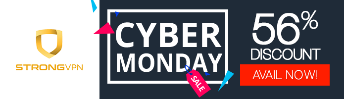 Strongvpn Cyber Monday deal