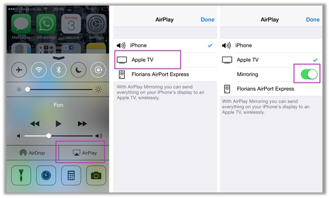 Using a VPN without a Router (via AirPlay Mirror)