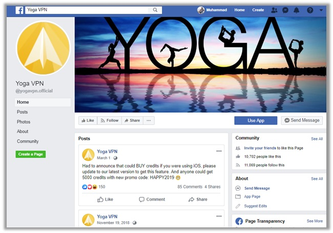 Yoga VPN Support