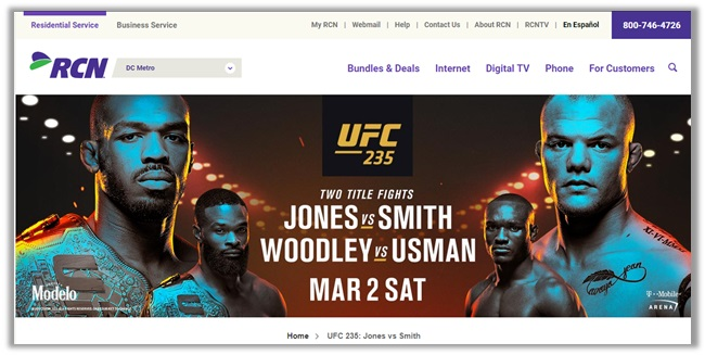 How to Watch UFC 235 Jones vs. Smith