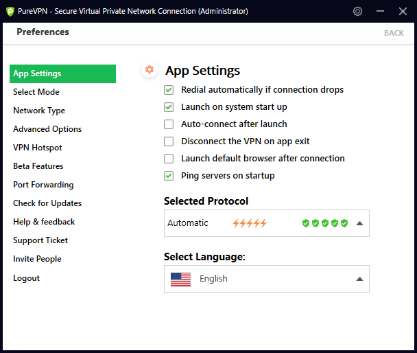 how to use purevpn on windows